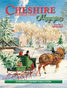 Cheshire Magazine Holiday Cover 2017